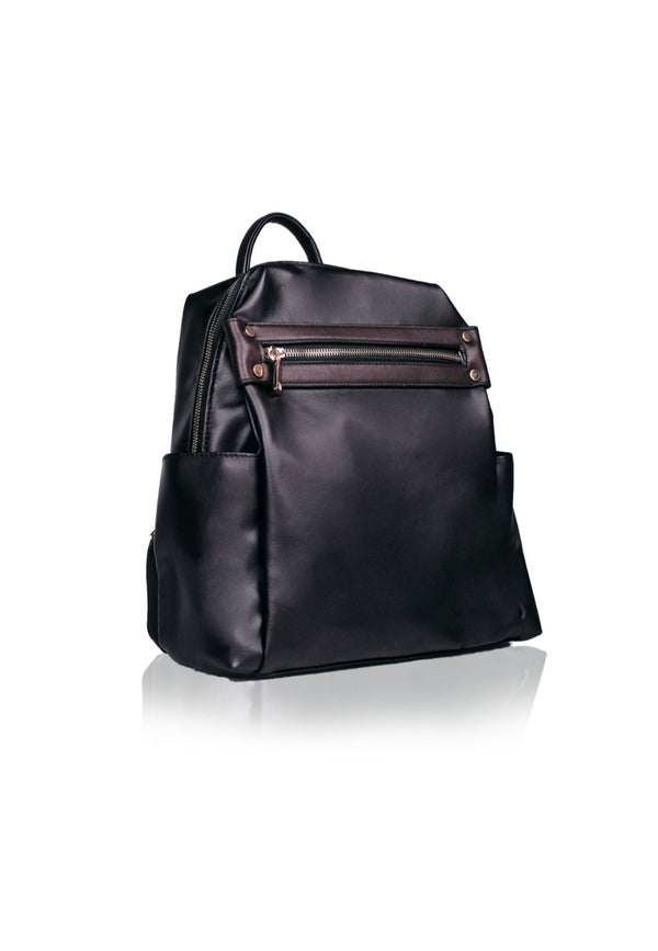 Backpack with Top Zipped Closure