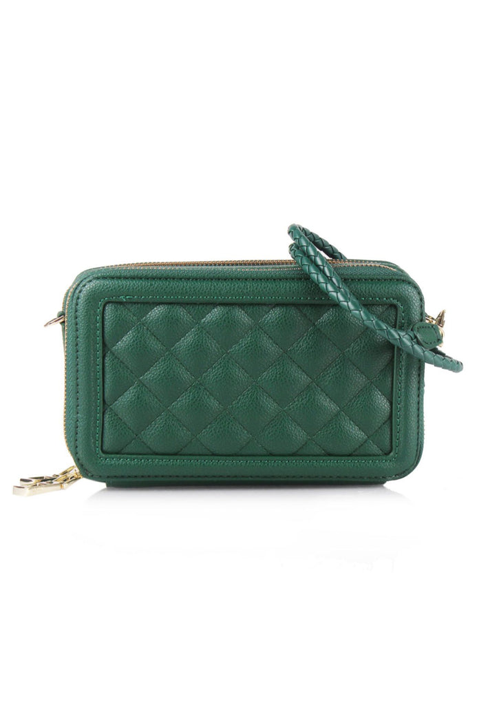 Quilted Zip Wallet