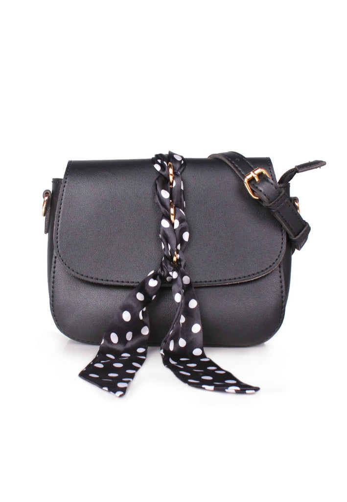 Crossbody Bag with Scarf