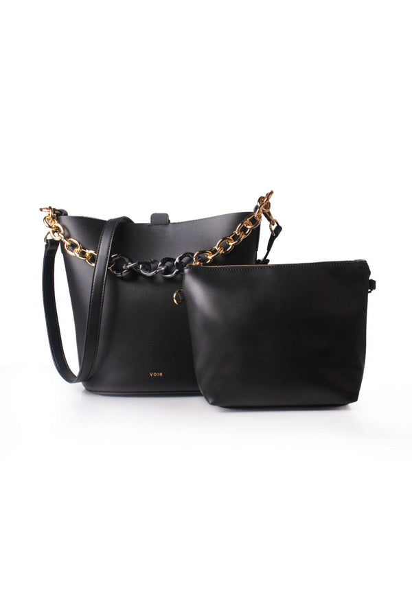Chunky Chain Shoulder Bag