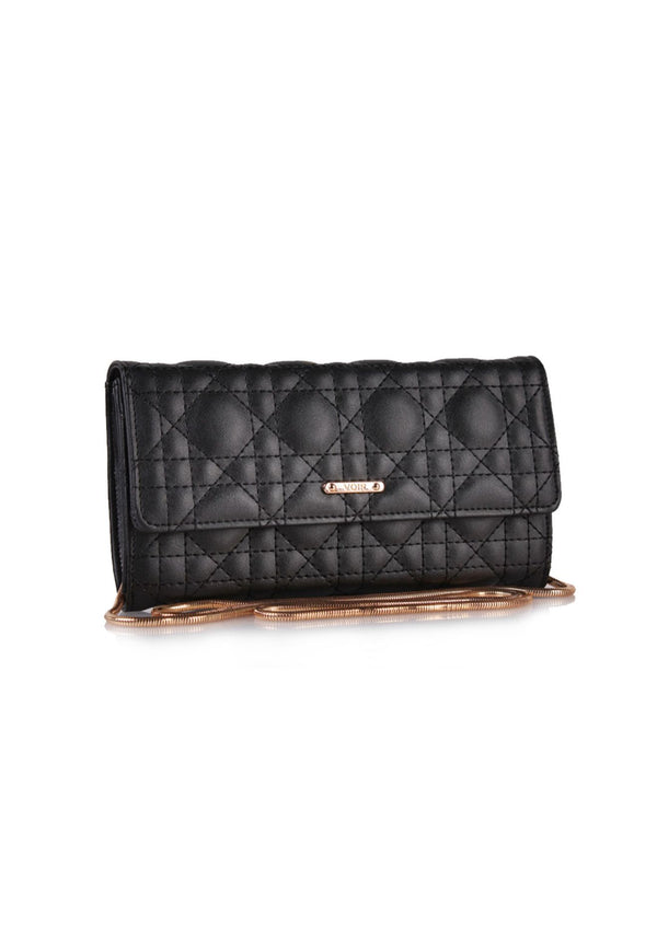 Quilted Flat Wallet