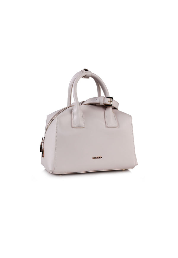 Mid-sized Handbag with Top Zip Closure