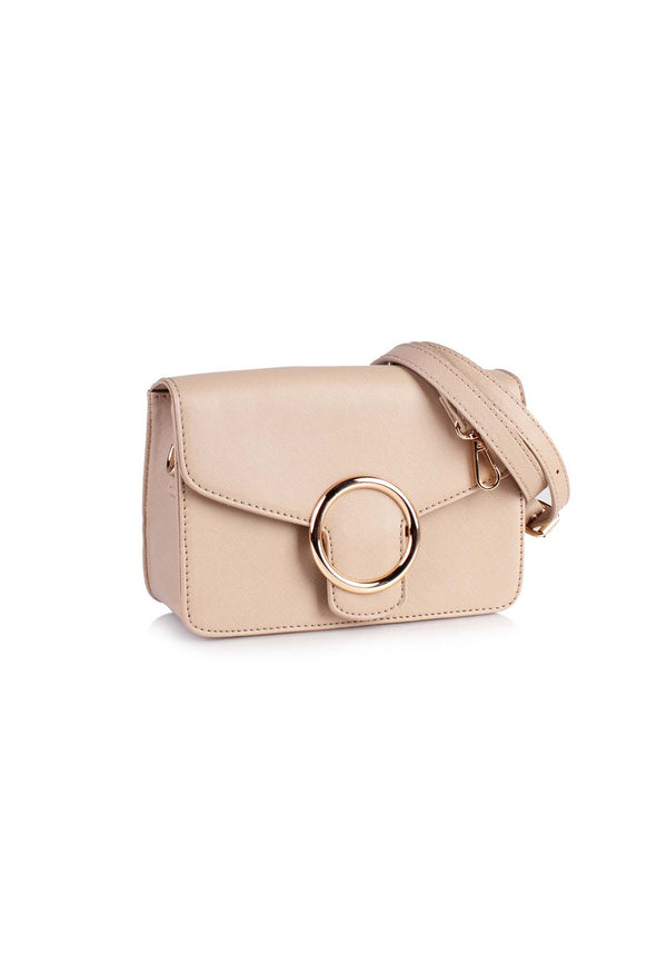 Mini Bag with Front Flap Closure