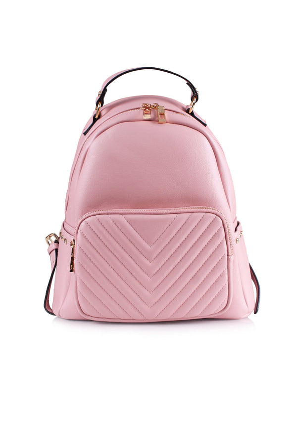 Casual Backpack with Zip Closure