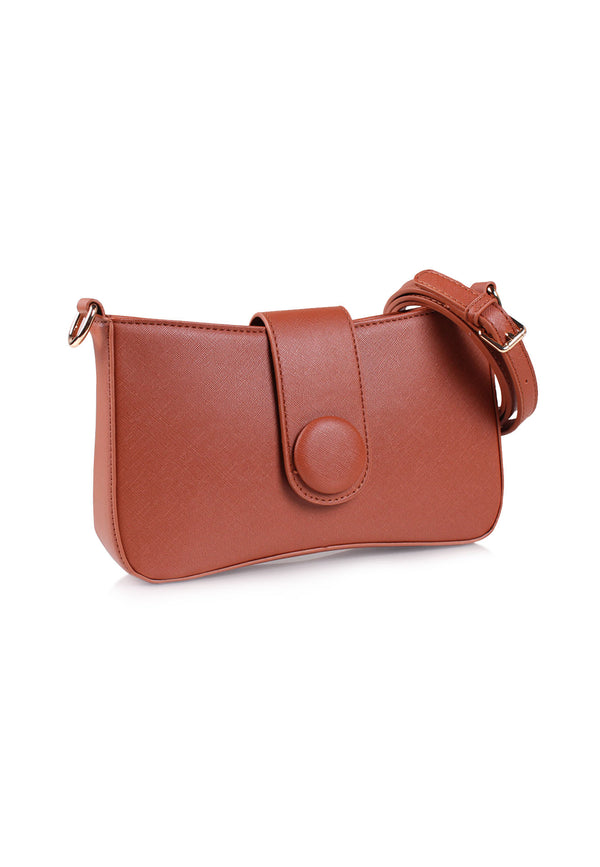 VOIR Clutch Sling Bag with Magnetic Closure