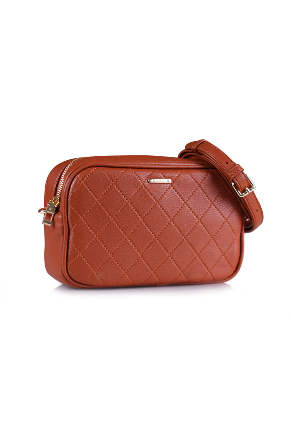 VOIR Casual Quilted Crossbody Bag