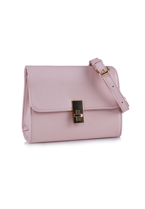*ONLINE EXCLUSIVE*  VOIR Twistlock Flap Crossbody Bag