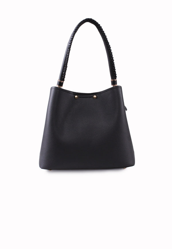 VOIR Classic Crossbody Bucket Bag