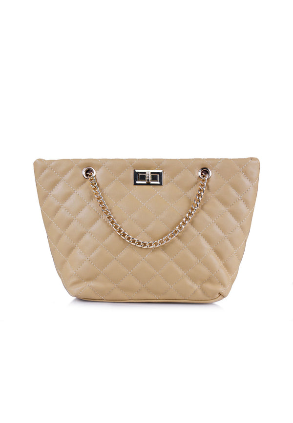 VOIR Quilted Shoulder Chain Bag