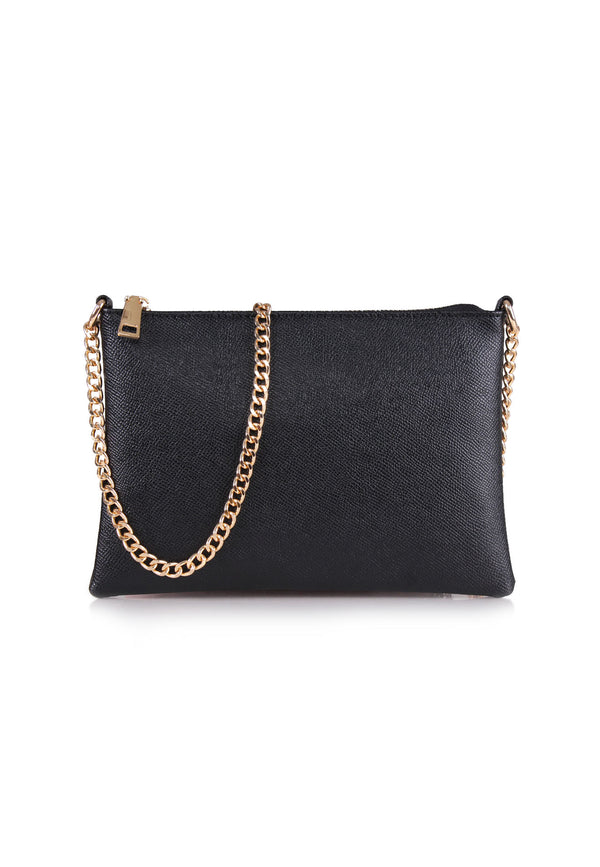 Casual Chain Strap Sling Bag