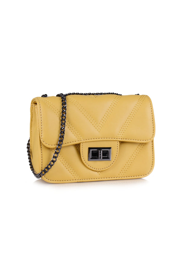 VOIR Quilted-V Sling Bag