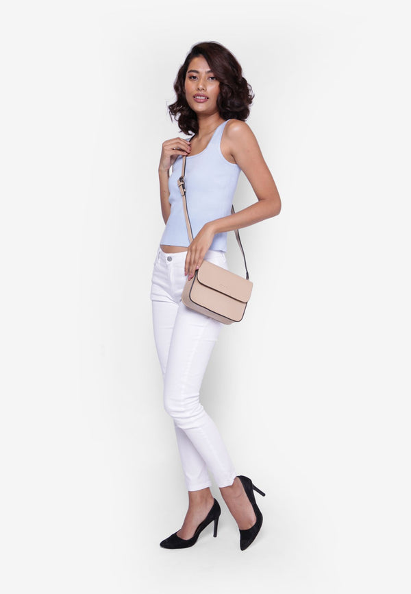 Crossbody Bag with Waist Straps