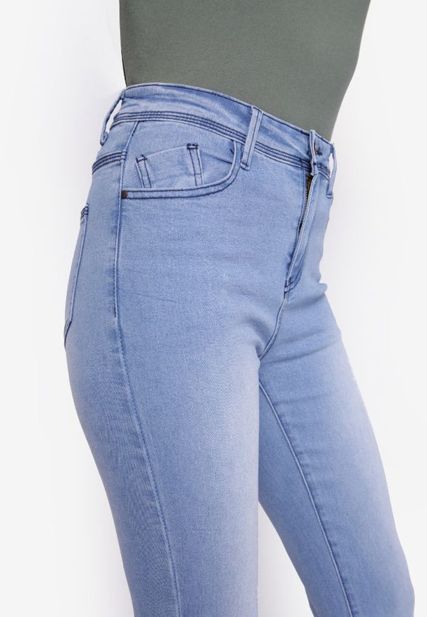 #307 High Rise Waist Skinny Jeans