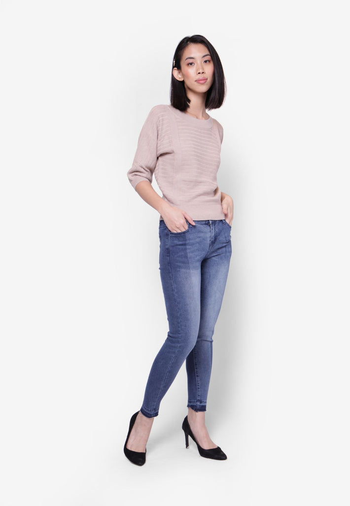 #305 Medium Rise Slim Cut Jeans