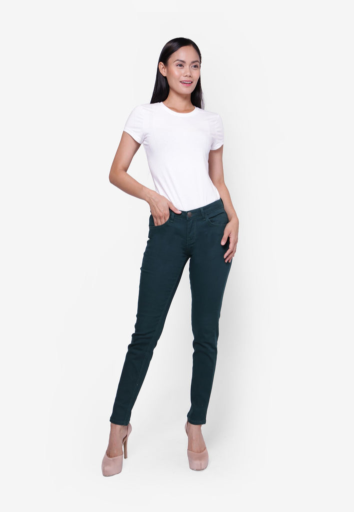 #305 Medium Rise Slim Cut Pants