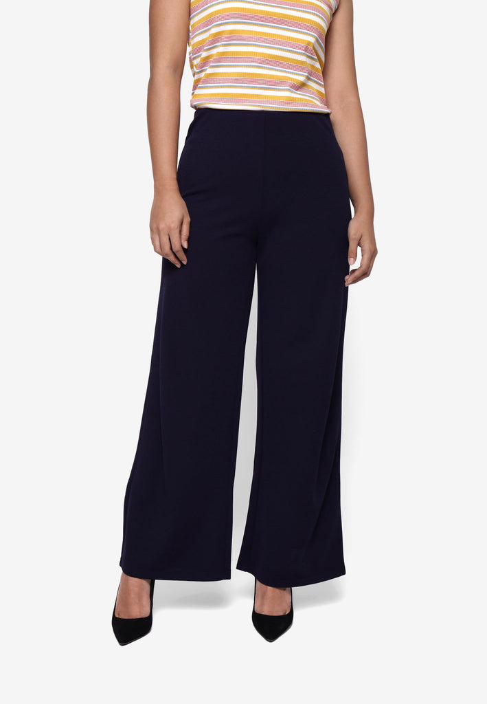 Basic Culotte in Navy