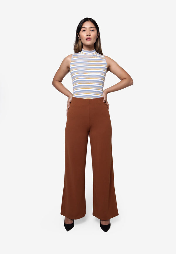 Basic Culotte in Brown