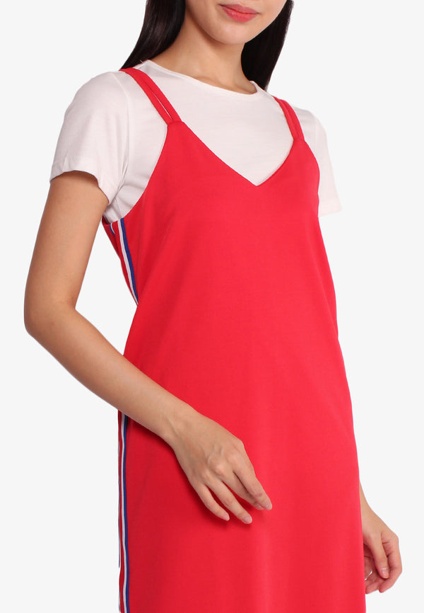 Short Sleeves Top Dress