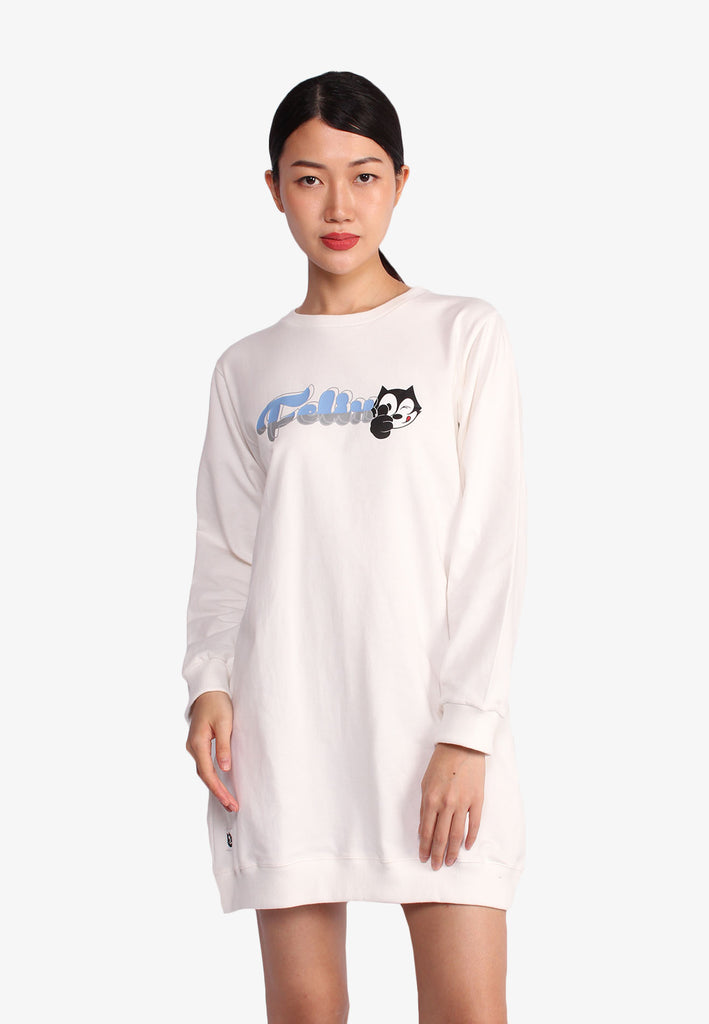 Felix the Cat Long Sleeve Dress