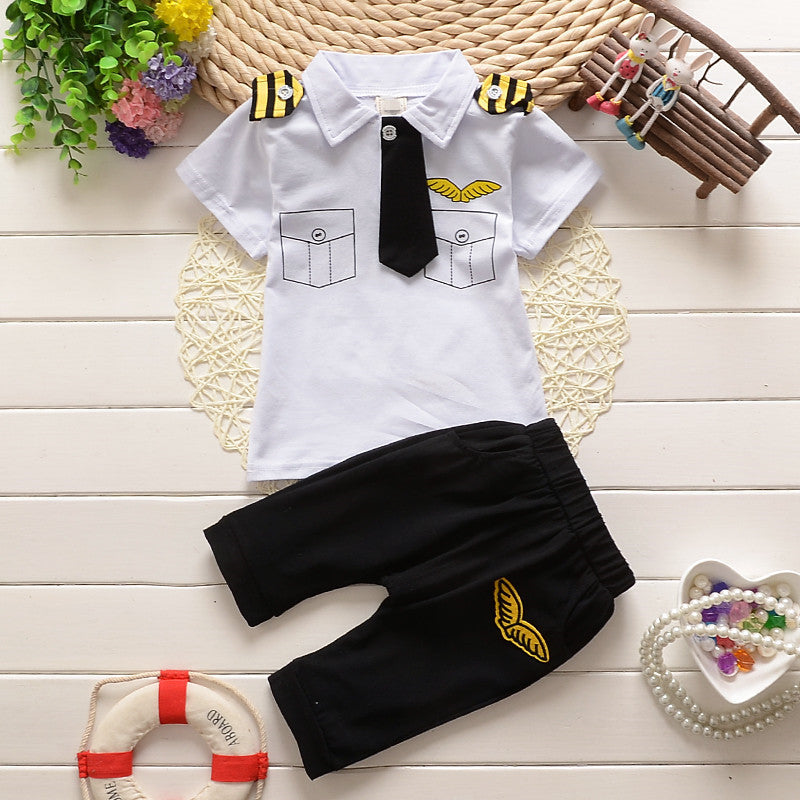 Captain Style Boy Outfit