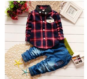 Plaid Formal/Tracksuit for Boy