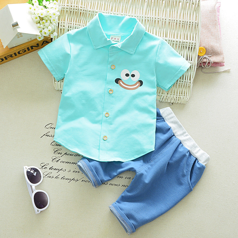 Summer Cartoonish Boy Outfit