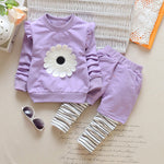 Cute Flower Autumn Girl Outfit