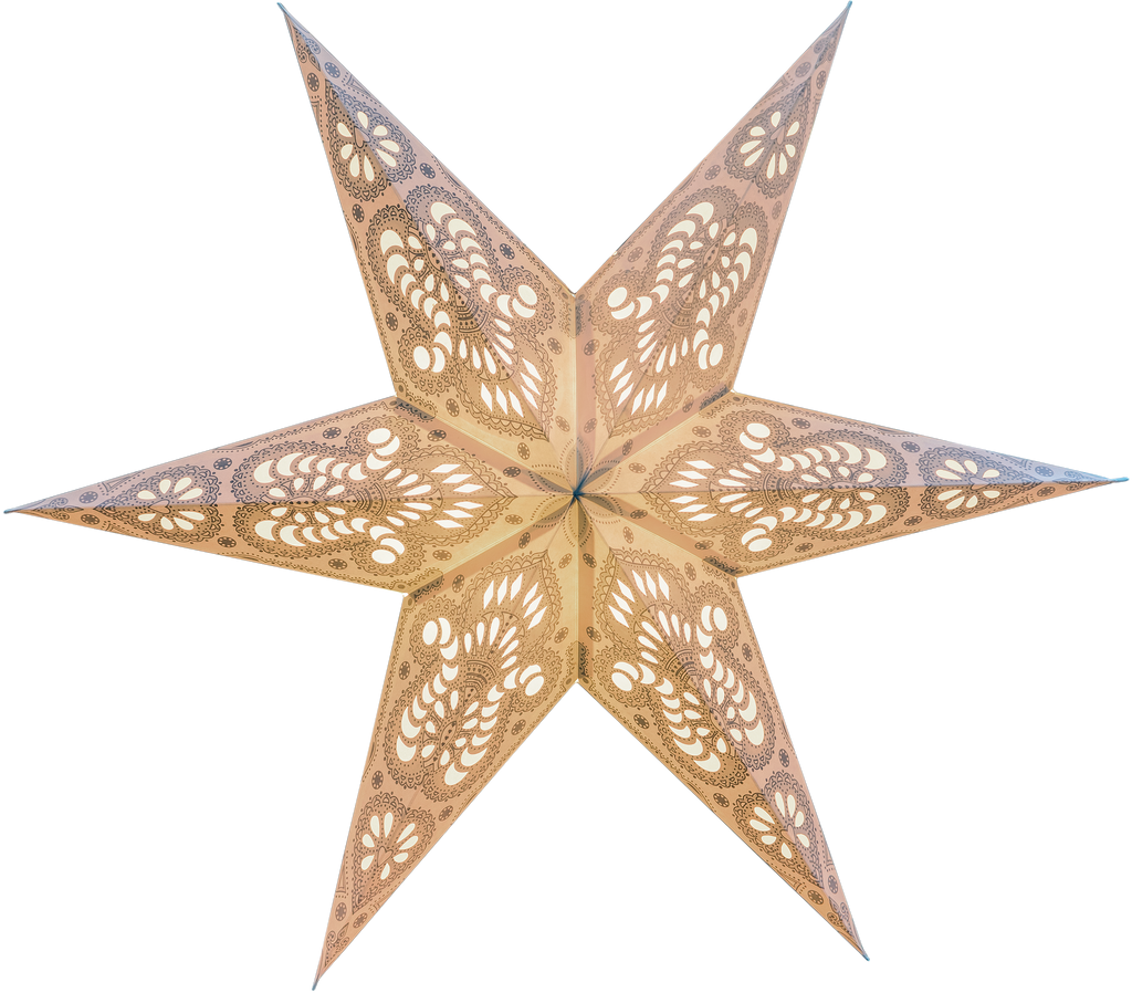 No. 107 Berlin - Handmade paper star