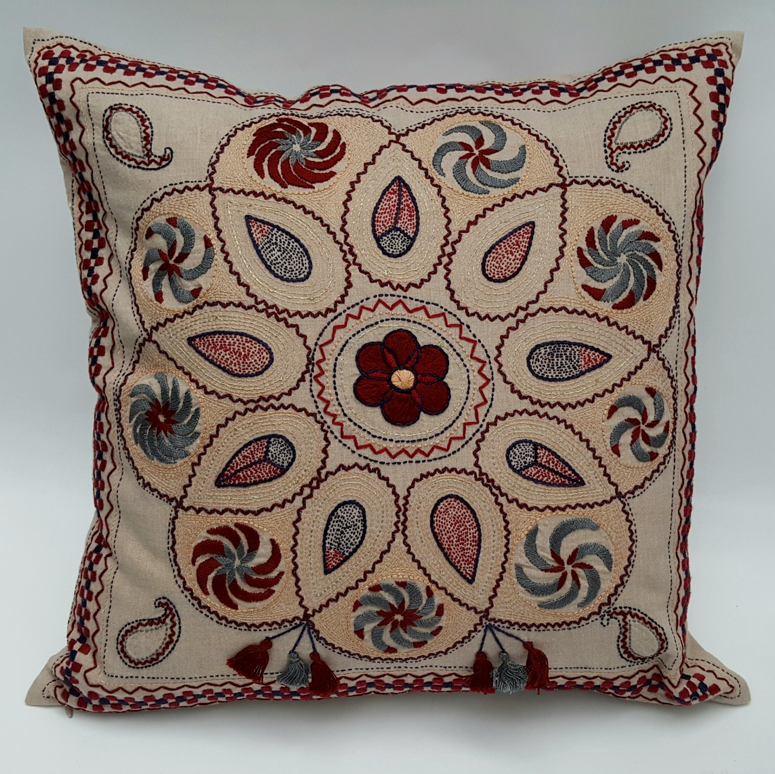 Indus Heritage Cushion Cover Mandala
