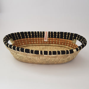 WomenCraft - Mkate Handled Basket - Black