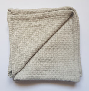 Mungo - Face cloth cotton interlace stone