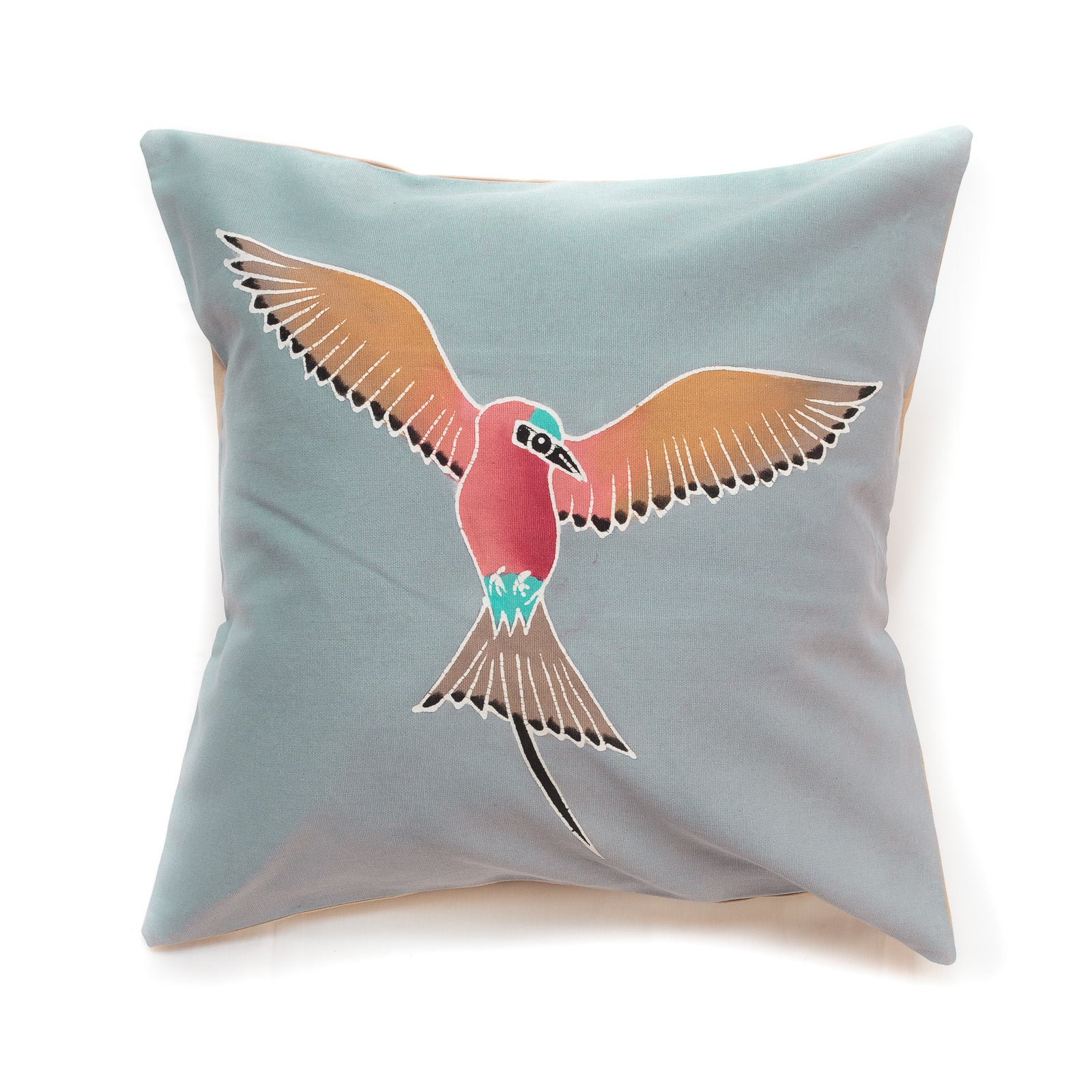 Cushion Covers ~ Birds ~ Carmine Bee-eater - Blue