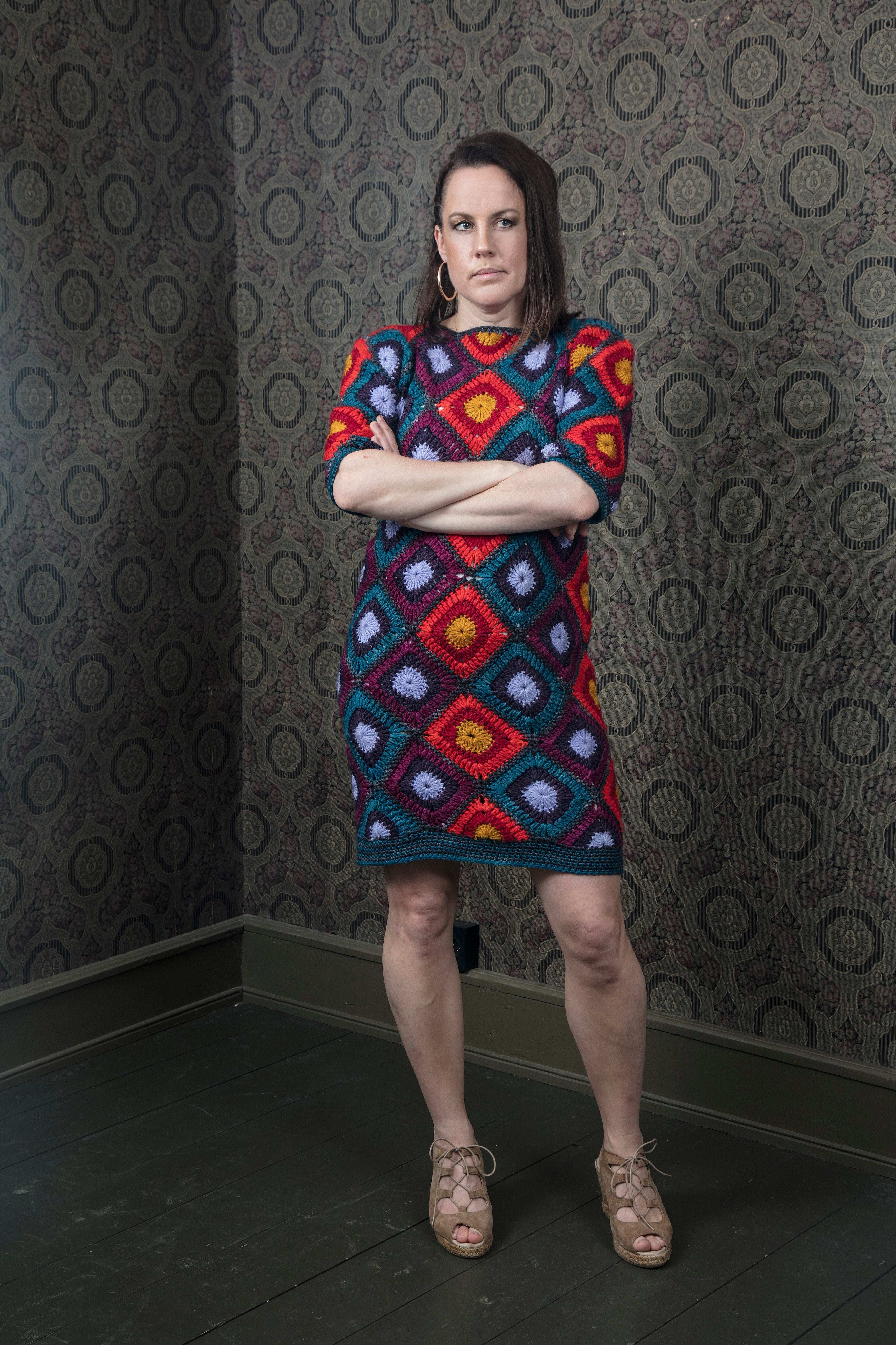 The Graphic Pattern dress - multicolored
