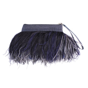 Rarity Feather Clutch