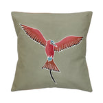 Cushion Covers ~ Birds ~ Carmine Bee-eater - Green