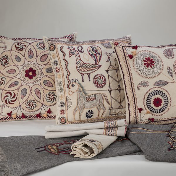 Indus Heritage Cushion Cover Small Mandalas