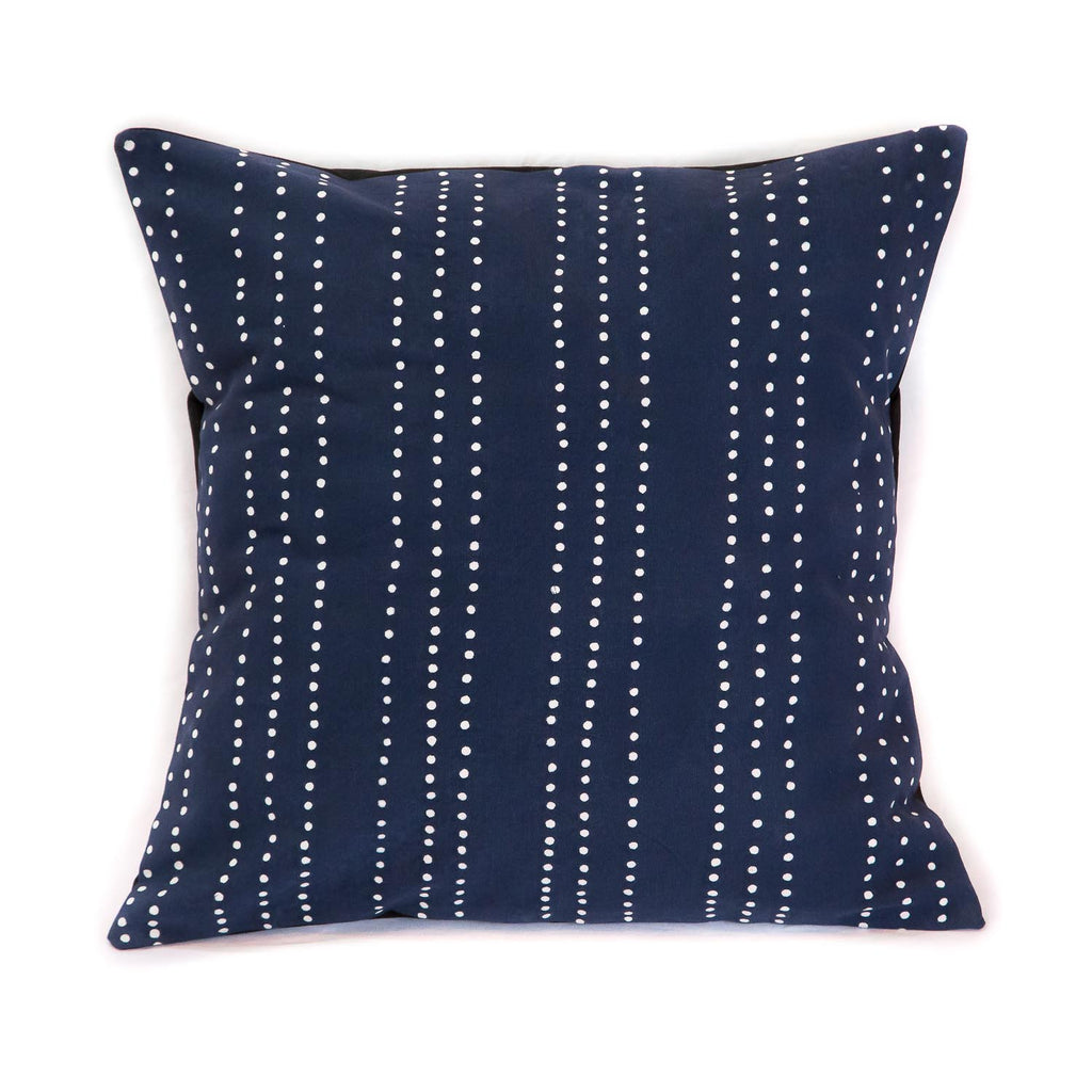 Cushion Cover ~ Tribal cloth - Dots