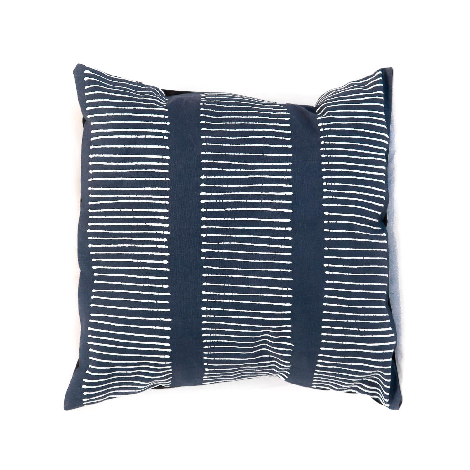 Cushion Cover ~ Tribal cloth - Lines