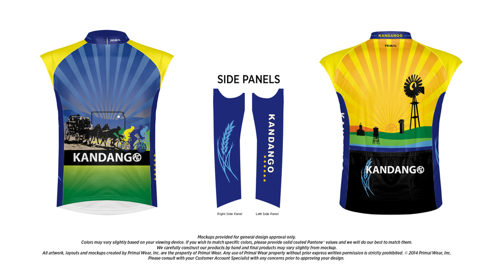 2018 Kandango Road Jersey - Sleeveless
