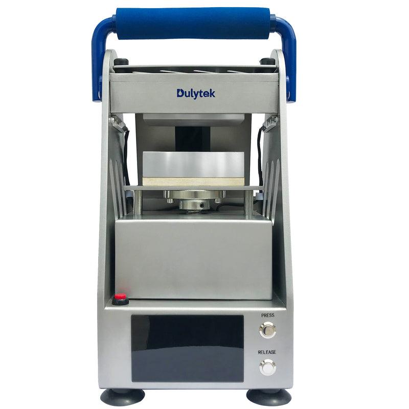 Dulytek DW6000 Electric Hydraulic Rosin Press, 3 Ton, for Solvent-less Cannabis Concentrate Oil Extraction