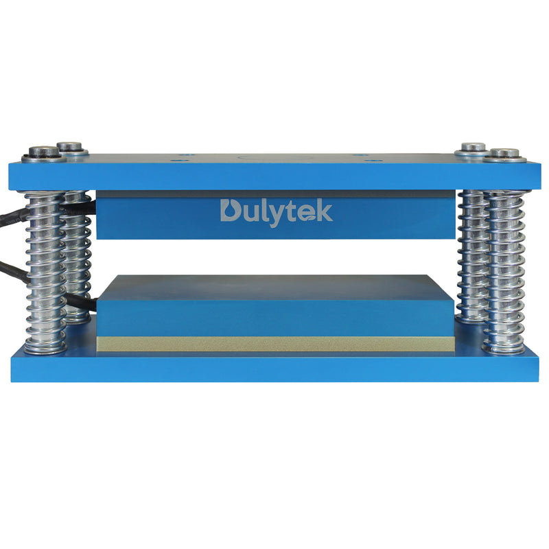 Dulytek Rosin Heat Retrofit 4 x 9 Inch Caged Plates for 20 - 40 Ton Workshop Presses