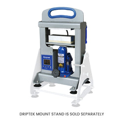Dulytek DHP7 7 Ton Rosin Heat Press, Hydraulic, with DripTek Mount Stand