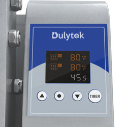 Dulytek DM1005 Manual Rosin Press, 1000lb, Two Channel Temperature and Timer Controls