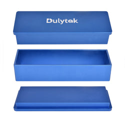 Dulytek Rosin Pre-Press Mold, Rectangular, 2 x 6 Inch, Assembly