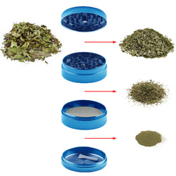 Dulytek Tobacco Cannabis Flower Herb Spice Grinder, Assembly