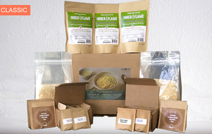 28 Meal Kitchari Survival Kit + CCFP Tea + Moringa-Turmeric Soup (Vegan & GF)