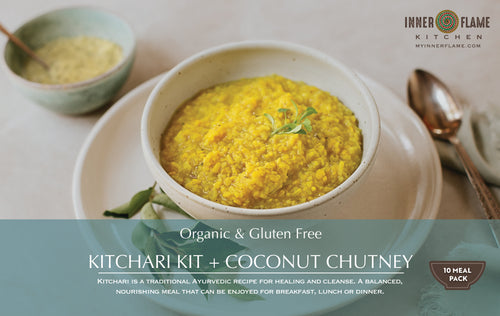 Organic Kitchari Kits - 2 and 10 Meal