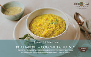 2 and 10 Meal Kitchari Kits