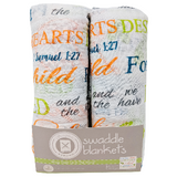 """For This Child We Have Prayed...""  Swaddle Blankets"