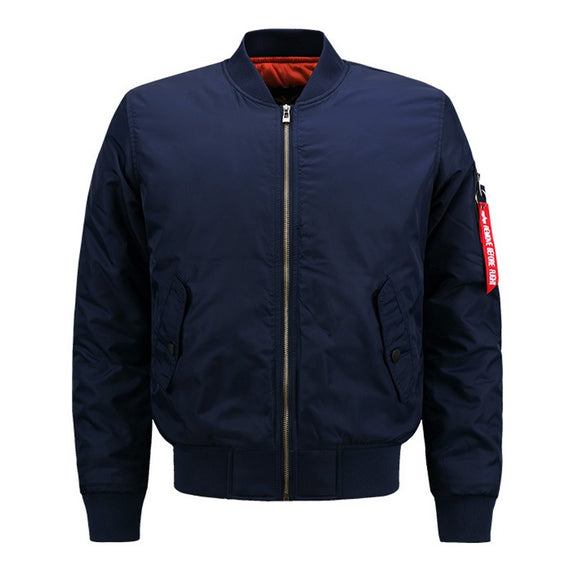 Men's Sports Casual Cotton Jacket-coat-Dee SuSu-Dark Blue-S-Dee SuSu